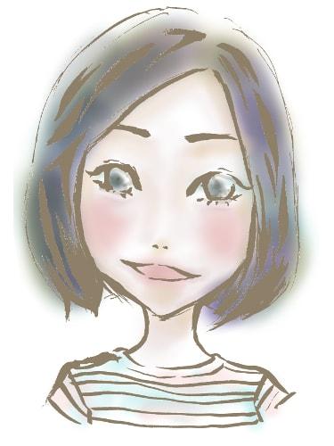 MIKI 似顔絵